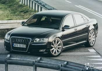 Audi S8/A8 z MASAŻEM i DŹWIĘKIEM V8 !!! - auto na wesele i ślub, Samochód, auto do ślubu, limuzyna Białobrzegi