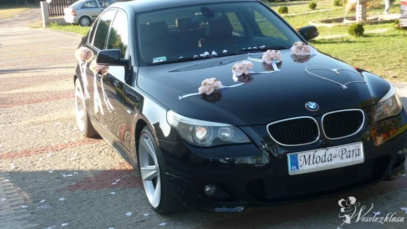 Auto do ślubu BMW E60 - M pakiet.Usługa bez limitu, Warka - zdjęcie 1