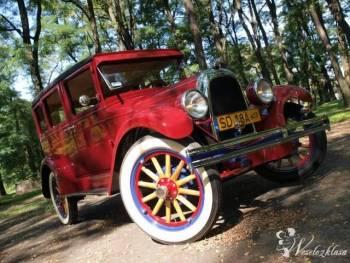 Whippet Overland 1928r. Zabytkowy, Samochód, auto do ślubu, limuzyna Rydułtowy