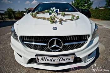 MERCEDES CLA >  Weselnie, Samochód, auto do ślubu, limuzyna Tarnowskie Góry