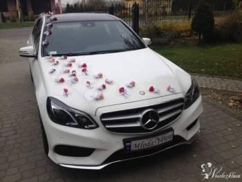 Auto do Śluby - Biały MERCEDES E AMG, Samochód, auto do ślubu, limuzyna Sokołów Małopolski