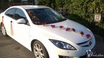 *Biała* Mazda 6 , Samochód, auto do ślubu, limuzyna Toruń