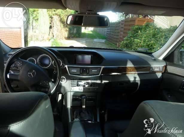 Mercedes E klasa- samochód do ślubu, Kalisz - zdjęcie 1