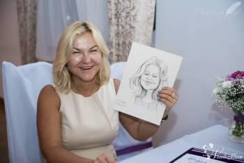 rysownik na weselu, karykaturzysta na żywo, Artysta Szubin