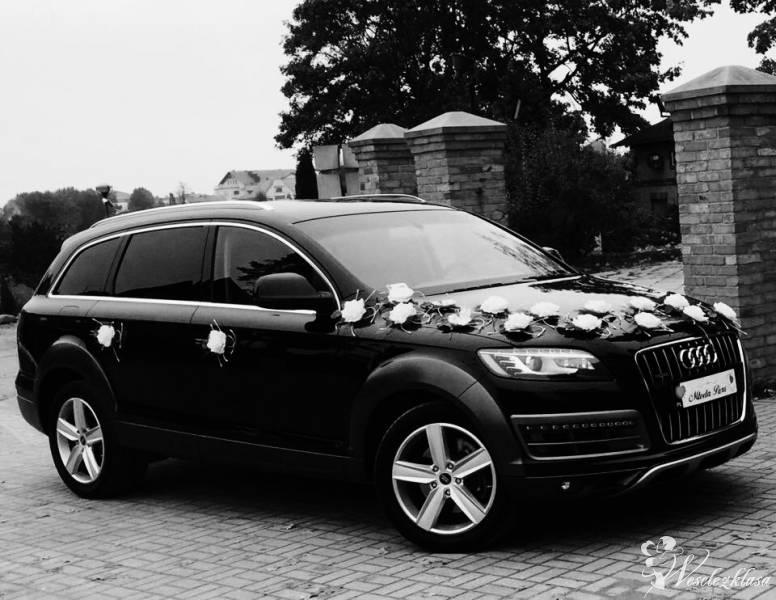 AudiQ7 - Luksusowa czarna limuzyna do ślubu, Sierakowice - zdjęcie 1