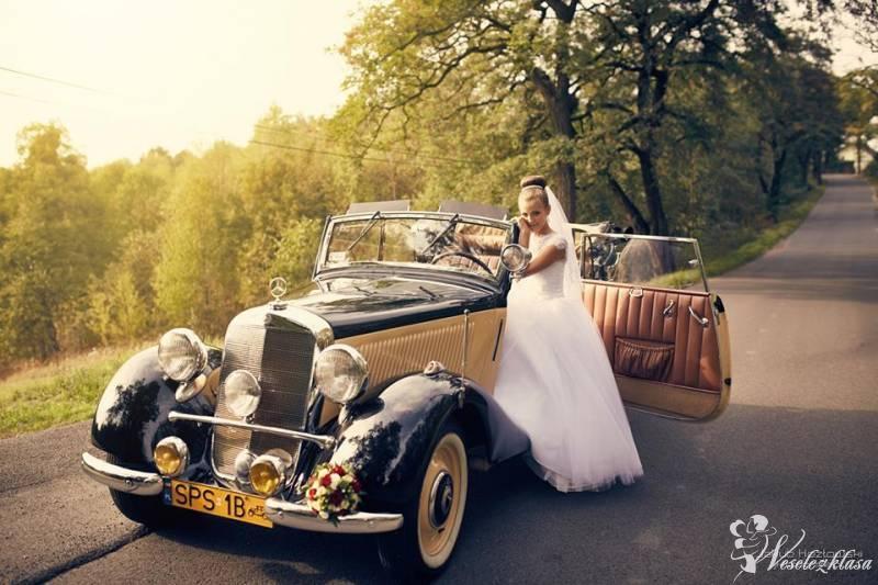 Auto do ślubu weselne Retro kierowca Mercedes, Pawłowice - zdjęcie 1