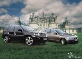 Luksusowe samochody BMW do ślubu., Samochód, auto do ślubu, limuzyna Gliwice