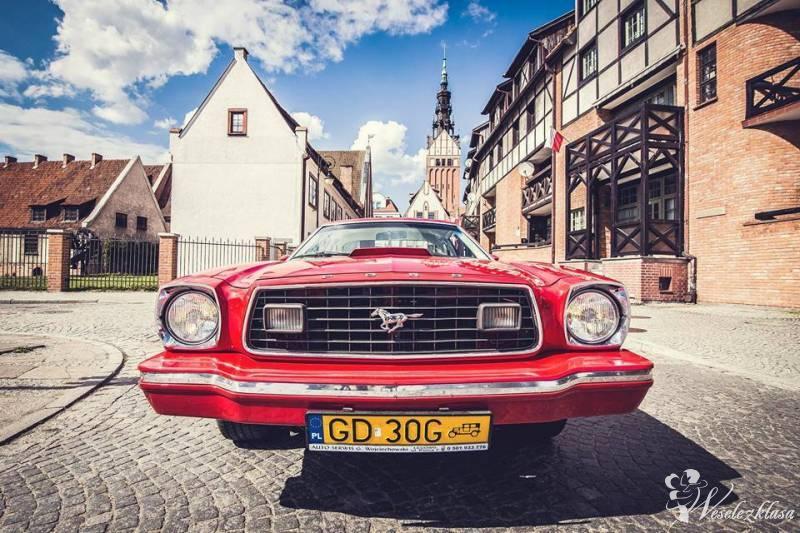 MUSTANG auto samochód do ślubu RETRO KLASYK, Gdańsk - zdjęcie 1