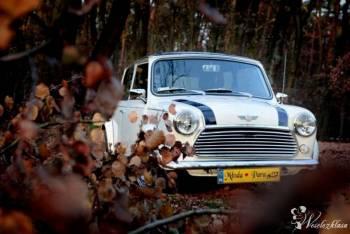 Piękny MINI COOPER do ślubu, Alfa Romeo, Mercedes Skrzydlak, Samochód, auto do ślubu, limuzyna Świątniki Górne