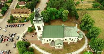 Drone X Vision - filmowanie ślubu, wesela z drona, Kamerzysta na wesele Warszawa