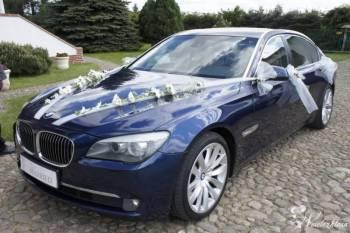 LIMUZYNA BMW F02 SERII 7 WERSJA LONG, Samochód, auto do ślubu, limuzyna Szczecin