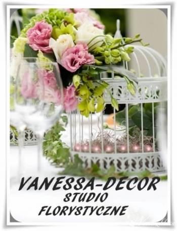 Vanessa-Decor studio florystyczne., Dekoracje ślubne Chodzież