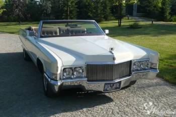 Zabytkowy Cadillac Deville kabriolet 1969, Samochód, auto do ślubu, limuzyna Szadek