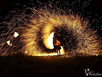 FireShow DRACONICA Grupa Tancerzy Ognia , Pokaz sztucznych ogni Dynów