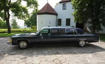 1984 Cadillac DeVille Limousine , Samochód, auto do ślubu, limuzyna Chodecz