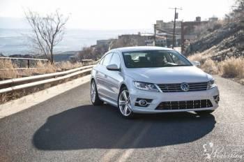 Auto do Ślubu Wynajem Biały Volkswagen CC R-line, Samochód, auto do ślubu, limuzyna Żywiec