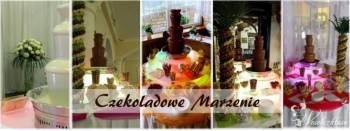 Fontanna Czekoladowa CZEKOLADOWE MARZENIE, Czekoladowa fontanna Rabka-Zdrój