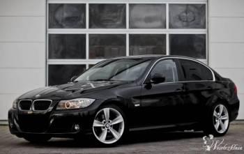 Piękne *Czarne* BMW E90, Samochód, auto do ślubu, limuzyna Siemiatycze