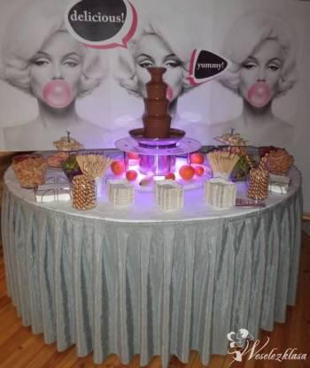Party Drink fontanna czekoladowa, fontanny sceniczne, Czekoladowa fontanna Chełmża