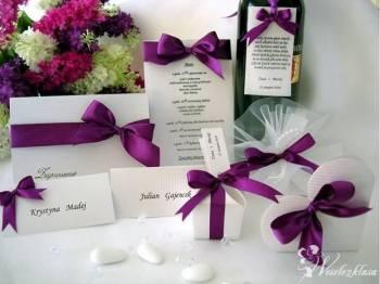 KORREN - Ślub, Upominki, Podziękowania dla gości, Artykuły ślubne Andrychów