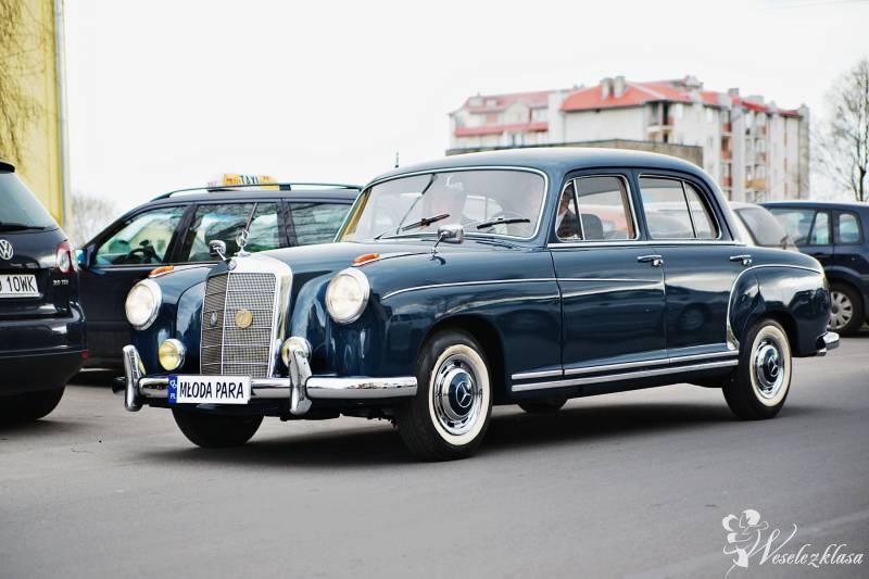 Mercedes do ślubu, retro, zabytkowy, 1958 rok, Łódź - zdjęcie 1