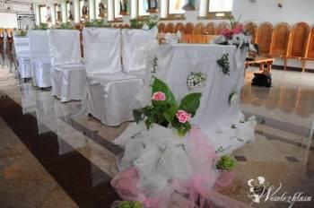 Dekoracje weselne kościoła i sali., Dekoracje ślubne Sanok