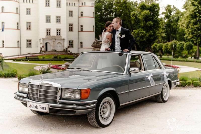 Klasyczna limuzyna mercedes S-samochód prezydencki, Poznań - zdjęcie 1