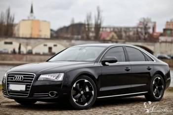 Audi A8 D4 - auto do ślubu na wesele, Samochód, auto do ślubu, limuzyna Rzepin