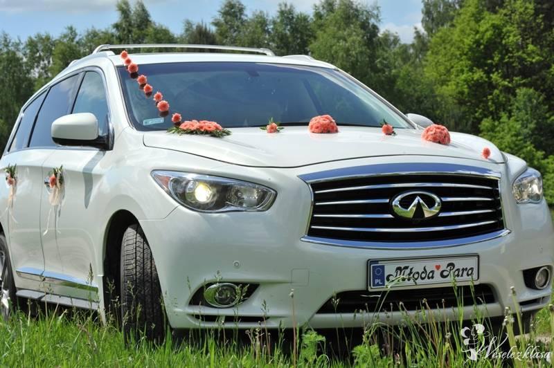 Auto do ślubu *białe* *nowe* Infiniti 2015r , Mińsk Mazowiecki - zdjęcie 1