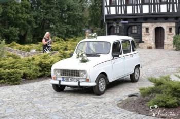 RENAULT R4   |||| DO ŚLUBU |||||, Samochód, auto do ślubu, limuzyna Bardo