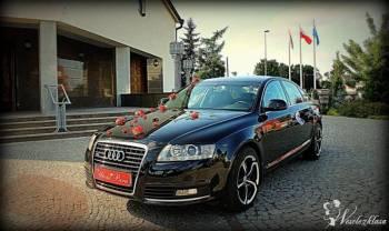Luksusowe Audi A6 , Samochód, auto do ślubu, limuzyna Gniewkowo