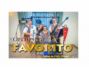 Zespół muzyczny FAVORITO Adamski Band, Zespoły weselne Kłodawa
