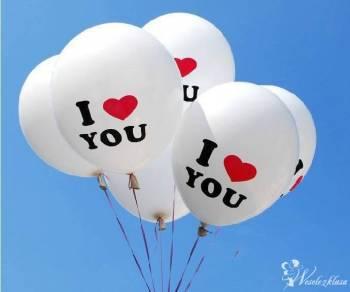 Pudło niespodzianka Balony z Helem, Balony, bańki mydlane Grajewo