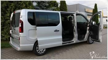 Wynajem busa 9 osobowego Opel Vivaro, Wynajem busów Toszek