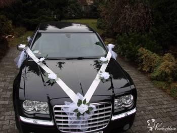 Chrysler 300 C - czarna limuzyna, Samochód, auto do ślubu, limuzyna Kruszwica