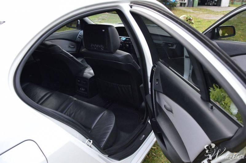 Auto do Slubu BMW e60 M-pakiet *Biała* Perła, Kalisz - zdjęcie 1