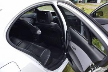 Auto do Slubu BMW e60 M-pakiet *Biała* Perła, Samochód, auto do ślubu, limuzyna Poniec