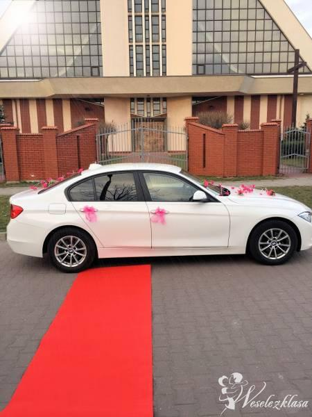 *Białe NOWE* BMW 3 ŚLUB 140 zł- Czerwony dywan GRATIS, Będzin - zdjęcie 1