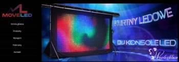 Kurtyna Led Video, Dekoracje światłem Jedwabne