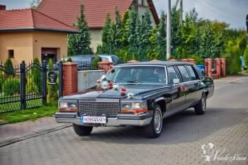 CADILLAC BROUGHAM. Piękna limuzyna do wynajęcia., Samochód, auto do ślubu, limuzyna Wrocław