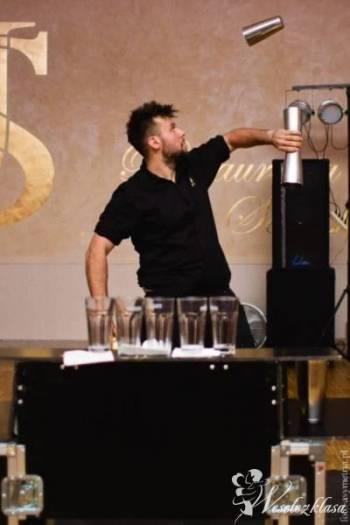 Pokaz barmanski i obsługa na weselu i nie tylko..., Pokaz barmański na weselu Sława