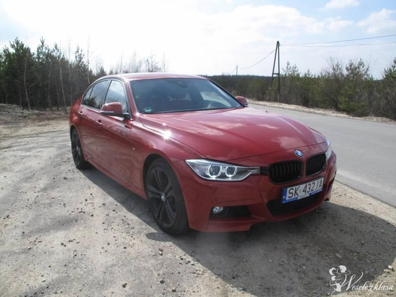 Czerwone BMW F30 M-PAKIET, Kraków - zdjęcie 1