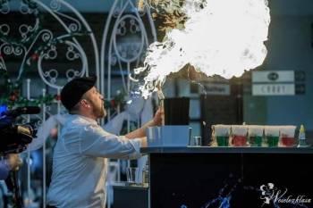 barman, bar weselny, pokazy barmańskie, molekularny, barista, druk, Barman na wesele Kępno