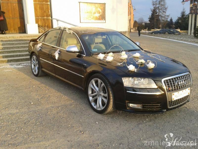 Przewóz do ślubu AUDI S8 D3 5.2FSI 450 KONI CZARNY, Olkusz - zdjęcie 1