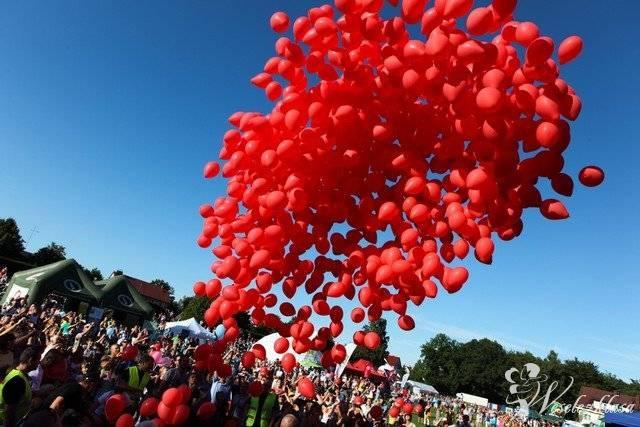 Pudło z balonami, pudła balonowe, balony helowe, balony do nieba + LED, Tychy - zdjęcie 1
