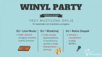 Winyl Party - DJ/Wodzirej + Retro Zespół, DJ na wesele Łaszczów