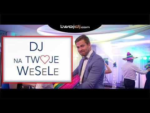 ⭐⭐⭐⭐⭐ TWOJDJ - DJ NA WESELE - konferansjer! 100 % Satysfakcji - film 1