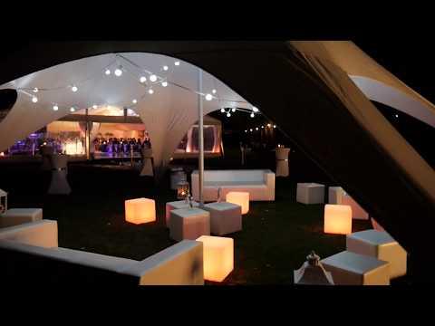 Wynajem namiotów, namiot na wesele, wesele w namiocie, hala namiotowa - film 1