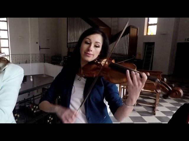 Manufaktura Muzyki -skrzypce,śpiew,kwartet smyczkowy,harfa,flet,organy - film 1