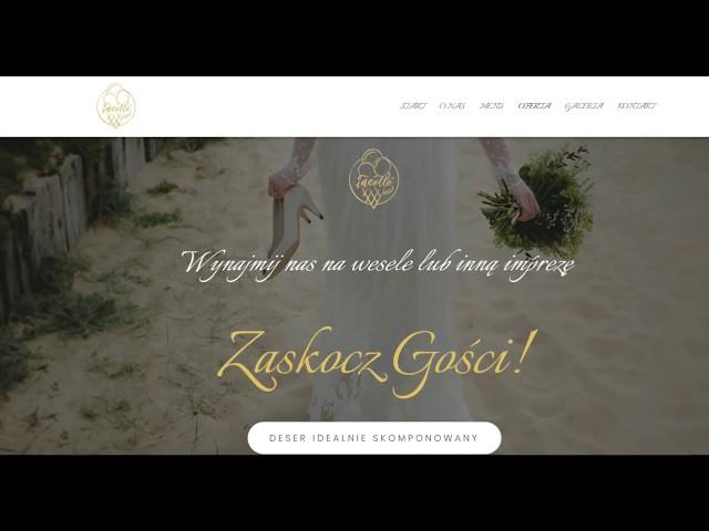 Lody na wesele z zabytkowego włoskiego Piaggio - film 1